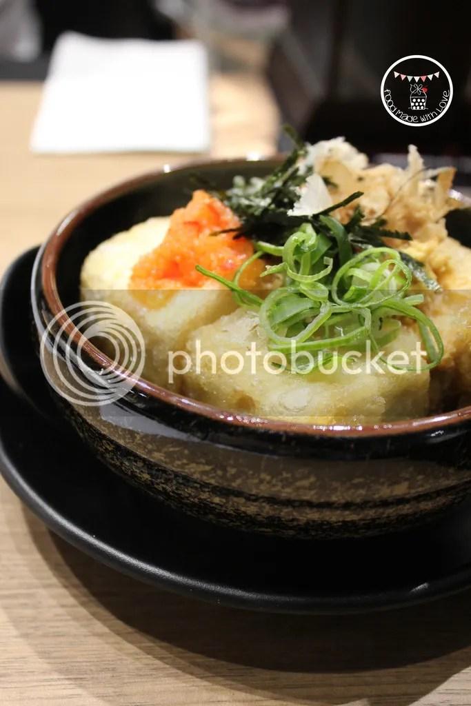 Agedashi toufu