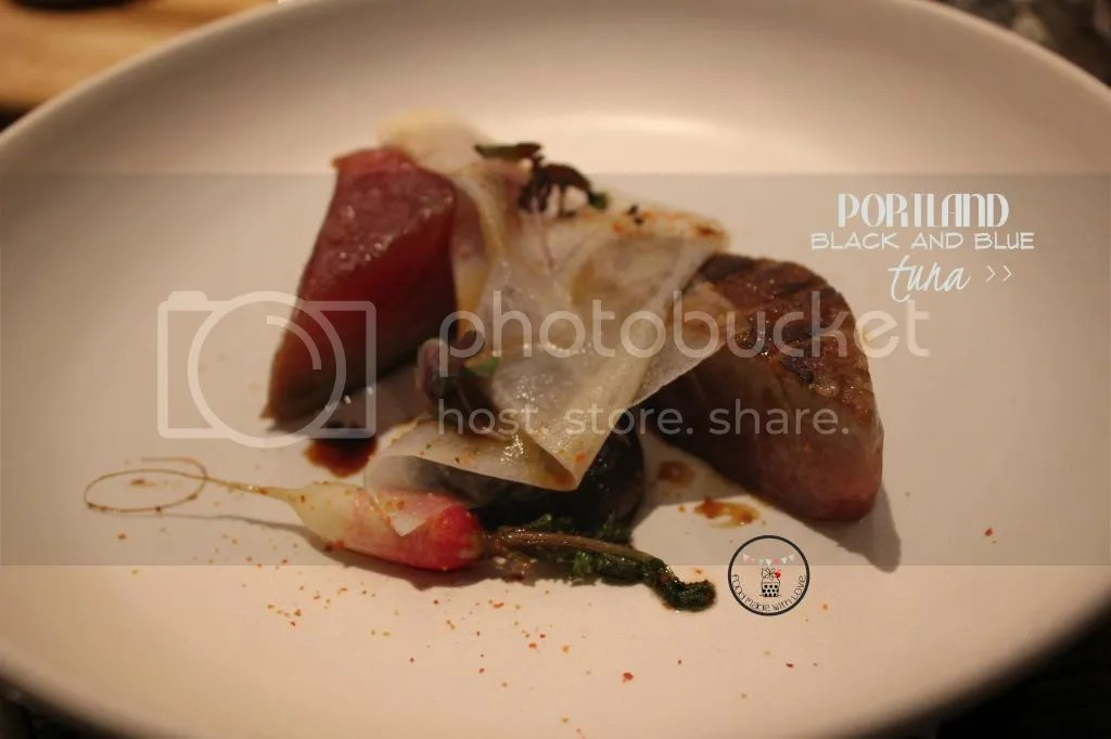 Portland black and blue tuna