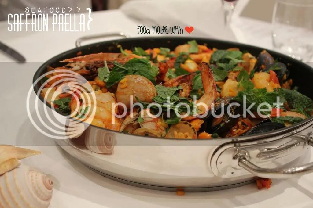 Saffron Seafood Pealla