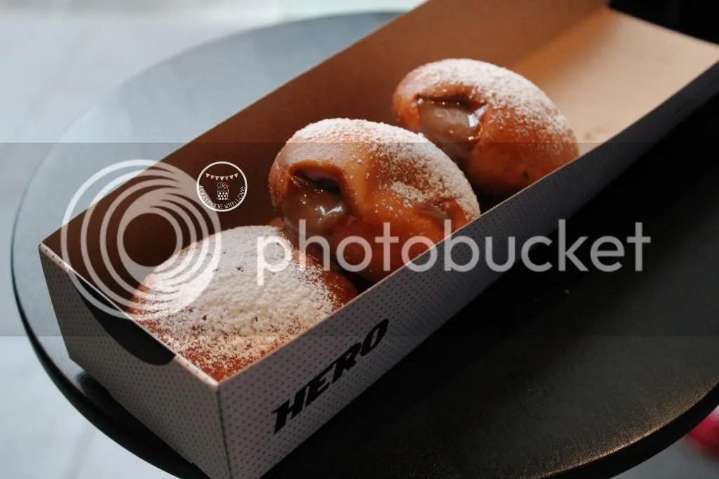 Hot ball donuts