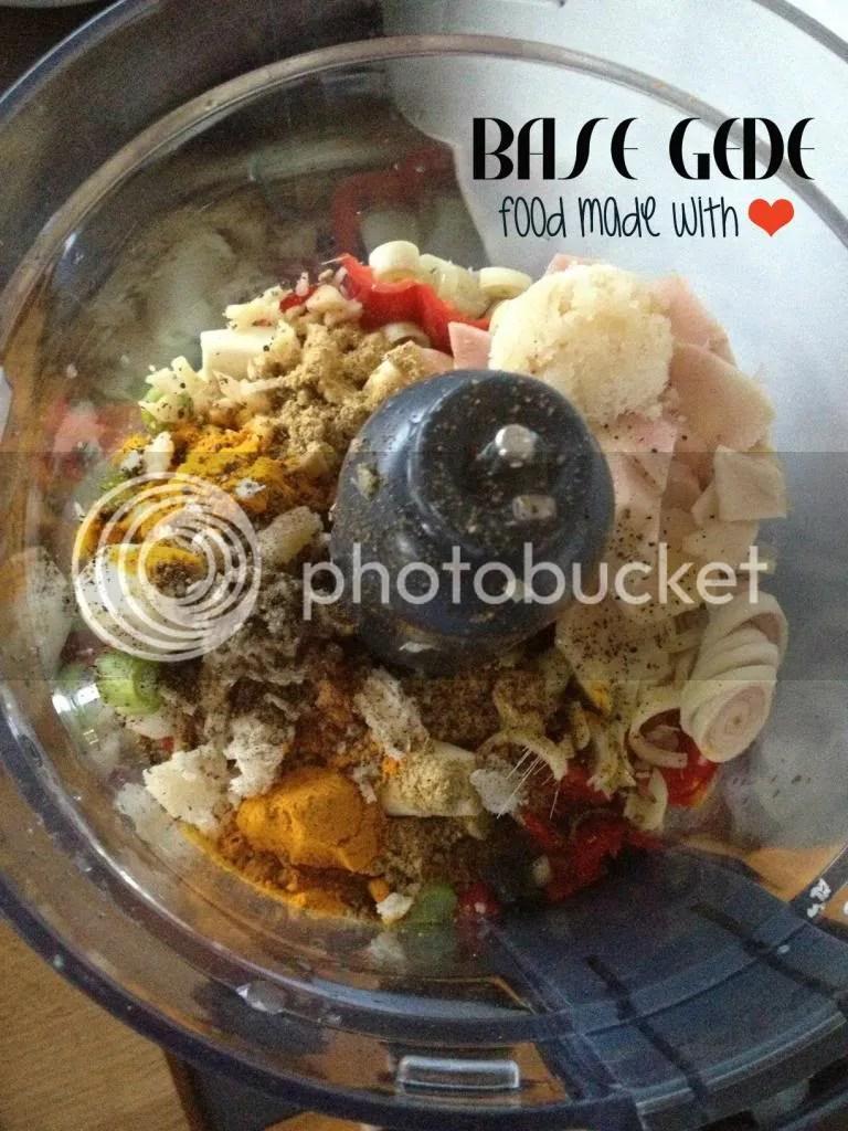 spice paste - base gede