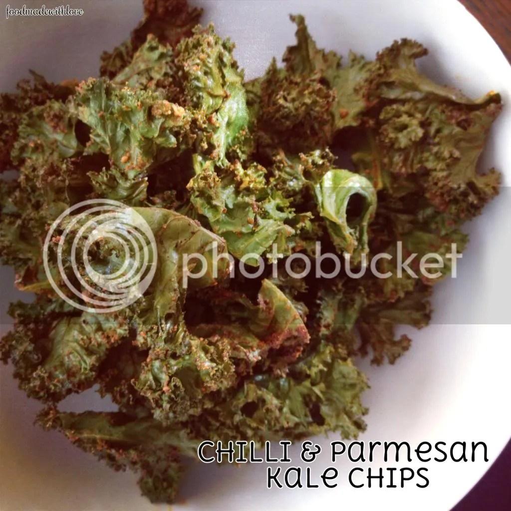 Chilli & Parmesan Kale Chips