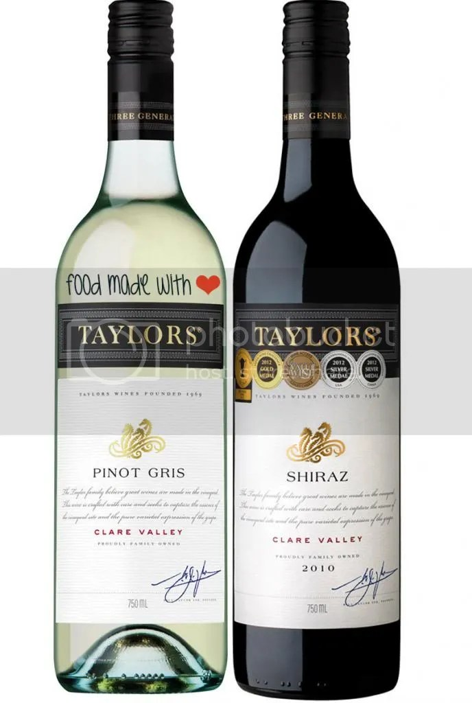 Taylors Estate wines