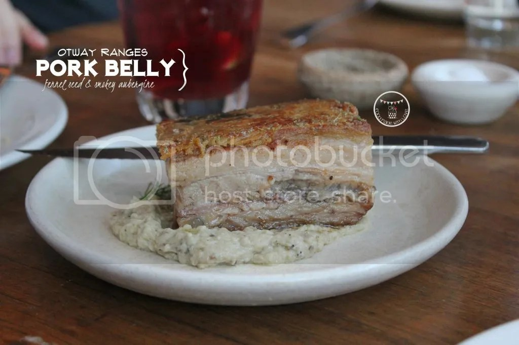 Crispy pork belly