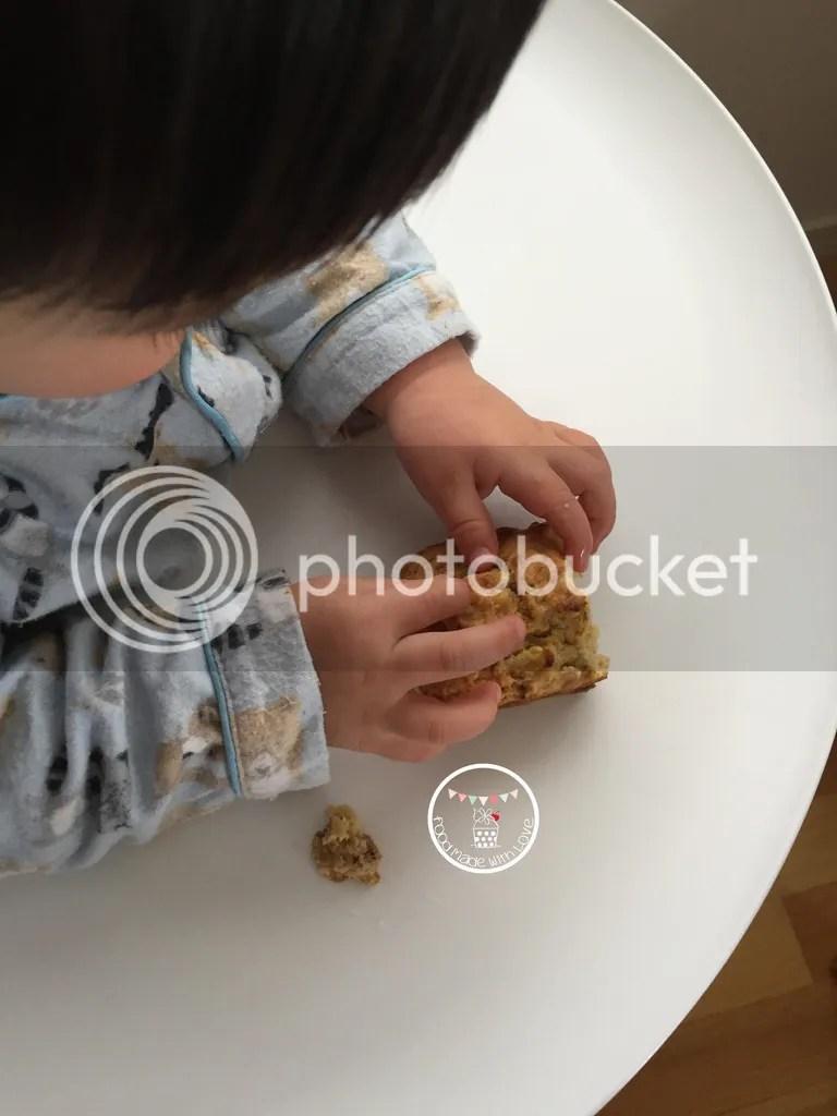 Lochlan analysing the loaf