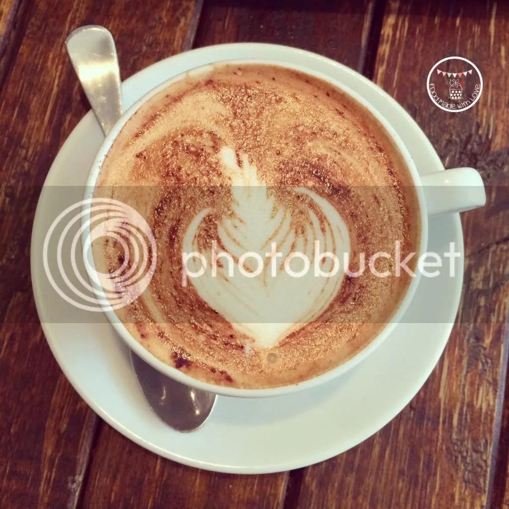 Decaf cappuccino