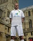 NORWICH City Football Club's new 2009-11 Aviva away kit