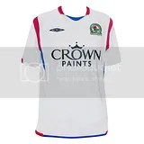 Blackburn Rovers Umbro 09/10 Away Kit