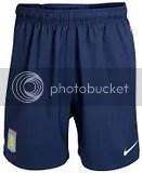Aston Villa Nike 09-10 Away Kit