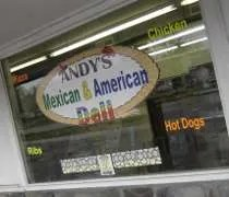 Andys Mexican & American Deli on North Aurelius Road in Holt