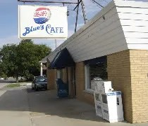 Blues Cafe near St. Marys Hospital in Kankakee, Il