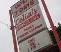 Celias Corner Cafe on Stewart Street in Owosso