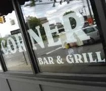 The Corner Bar & Grill on Shiawassee Street in downtown Lansing.