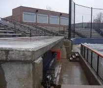 Eichelberger Field on the campus of the University of Illinois