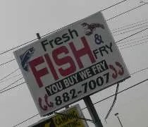 Fresh Fish & Fry on S. MLK, Jr. Blvd in Lansing.