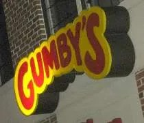 Gumbys Pizza & Wings on Grand River Avenue in East Lansing.