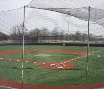 The view from the press box at Illinois Field in Champaign, IL