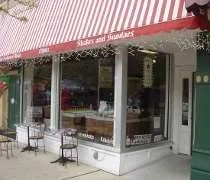 Kilwins Chocolate & Ice Cream Shop in downtown St. Joseph