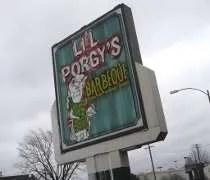 Lil Porgys Barbecue on Springfield Avenue in Champaign, IL