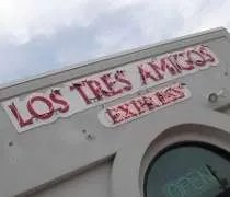 Los Tres Amigos Express near the Frandor Shopping Center.