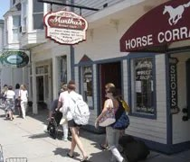 Marthas Sweet Shop on Main on Mackinac Island