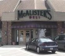 McAlisters Deli near the corner of Marsh Road and Grand River Avenue in Okemos