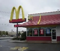 McDonalds in Paw Paw located just off I-94