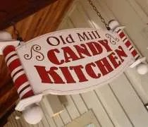 Old Mill Candy Kitchen on Old Mill Street in Pigeon Forge.