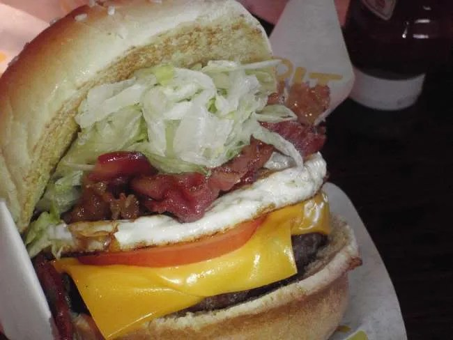 Royal Red Robin Burger