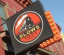 Slows Bar-B-Q on Michigan Avenue in Detroit.