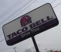 The Taco Bell on Trowbridge Road in East Lansing.