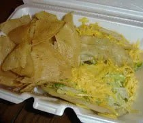 The taco meal from Tacos E Mas in Holt