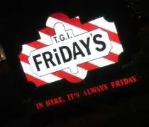 TGI Fridays on 95th Street in Oak Lawn.