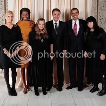 Zapatero y sus hijas