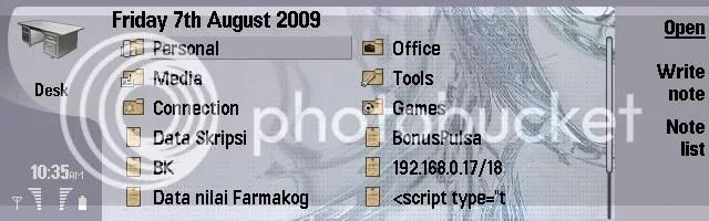 tanggal 07 08 09 on my 9300 desktop