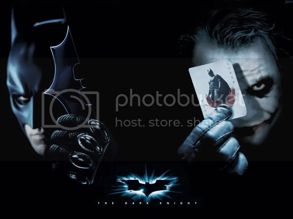 It's custom wallpaper for The Dark Knight. Now in both Full and Wide screen