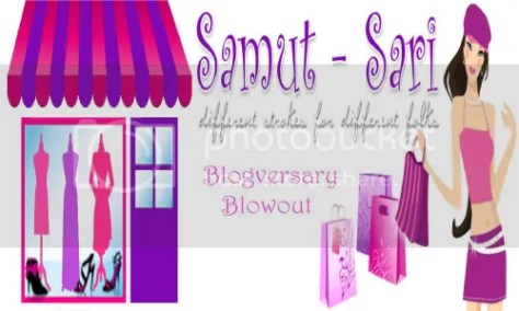 Samut-Sari's Blogversary Blowout