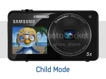 Samsung 2View Dual LCD Camera