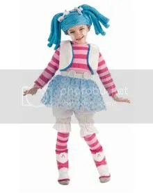 Lalaloopsy Mittens Fluff N Stuff Toddler Deluxe Costume