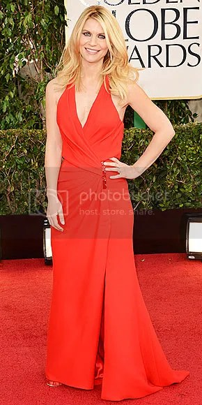 Claire Danes' Sexy Post Pregnancy Body at the Golden Globes
