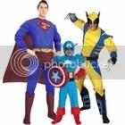 Super Hero Halloween Costumes