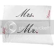 Mr. & Mrs. Pillowcases