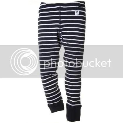 PO.P stripe child leggings