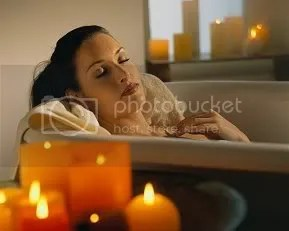 Woman on a Bath Tub