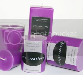 Scented Lavender Candles
