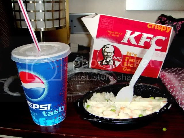 Room Breakfast of KFC
