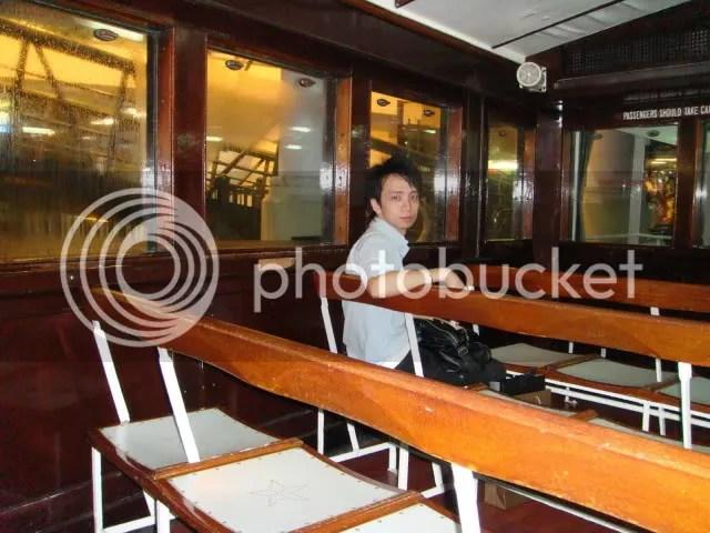 Aboard Star Ferry