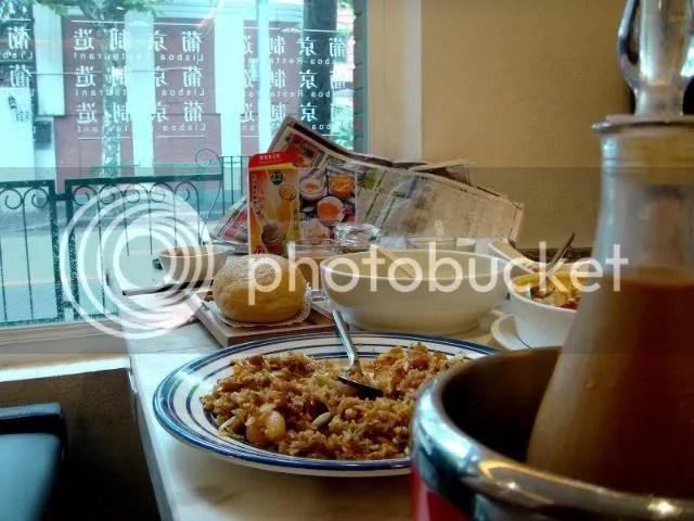 Lisboa Restaurant, Shensi St. N.