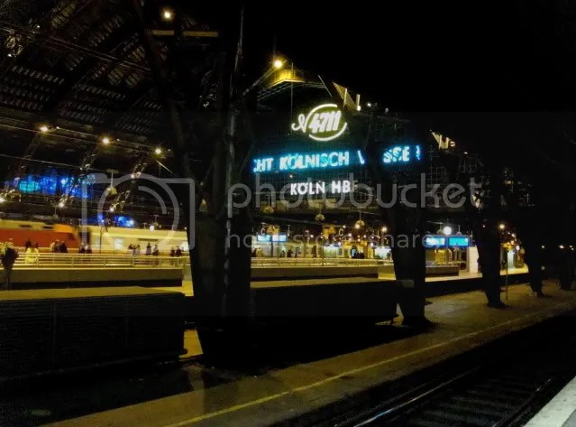 Cologne Main Railroad Station