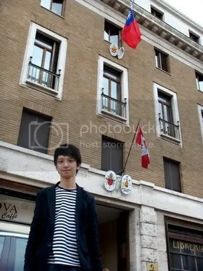 Jeremy C.K. Shih at R.O.C. Embassy to the Holy See